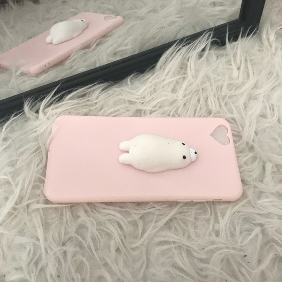 Other - Kawaii Squishy Seal iPhone 6/6s Case